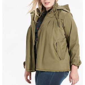 NWT Lucky Brand 2X Military Jacket